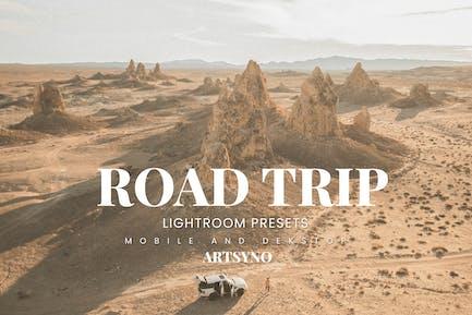 Road Trip Lightroom Presets Dekstop and Mobile