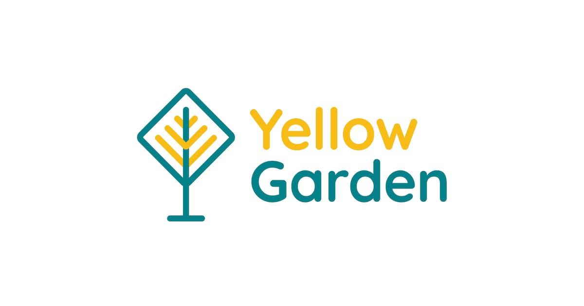 Download Yellow Garden Logo by uispot