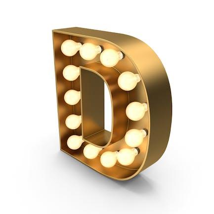 Signo de carpa letra D