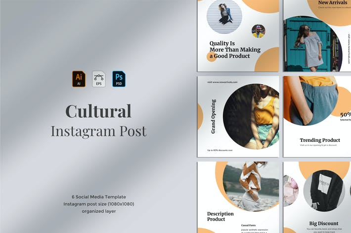 Thumbnail for Cultural - Social Media Post 09