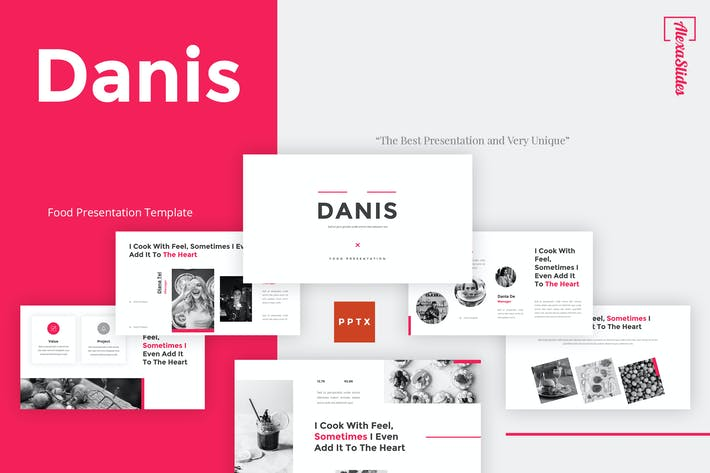 Thumbnail for Danis - Food Powerpoint Template