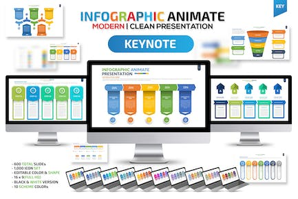 Infographic Animate Keynote Template