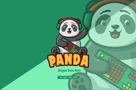 Panda - Mascot Logo
