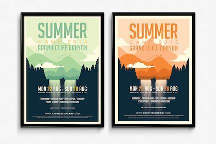 Summer Camp Poster