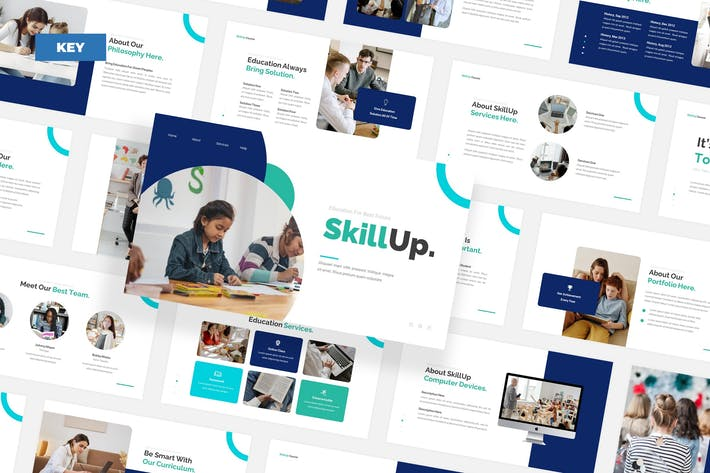 Онлайн-курс SkiLlup - Keynote
