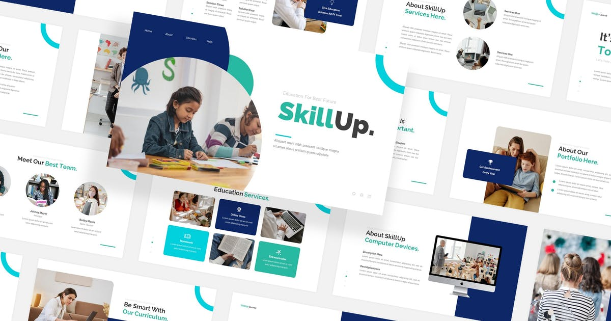 Download SkillUp Online Course - Keynote Up by Rometheme