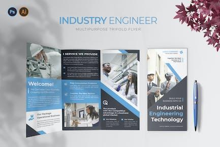 Industry Engineer – Trifold Brochure