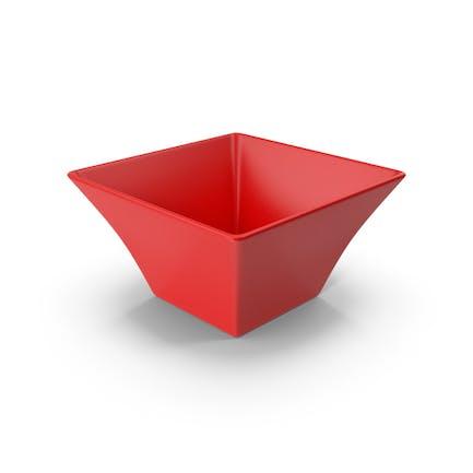 Ceramic Bowl Red