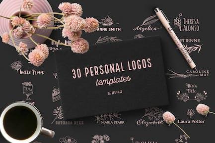 30 Personal Logos