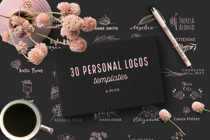 Thumbnail for 30 Personal Logos