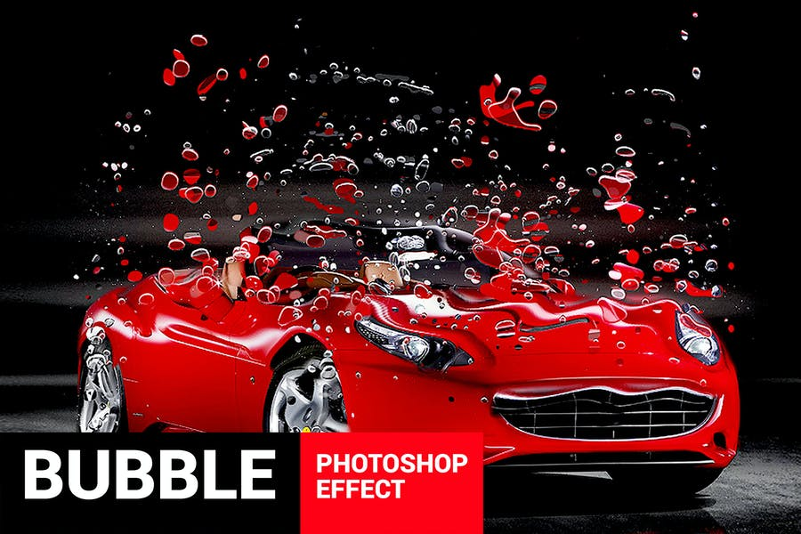 Bubblum - Bubble Generator Photoshop Action