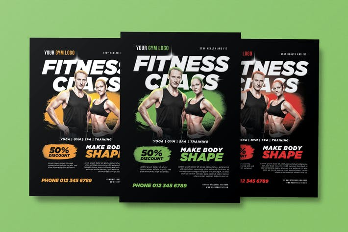 Thumbnail for Fitness Class Flyer