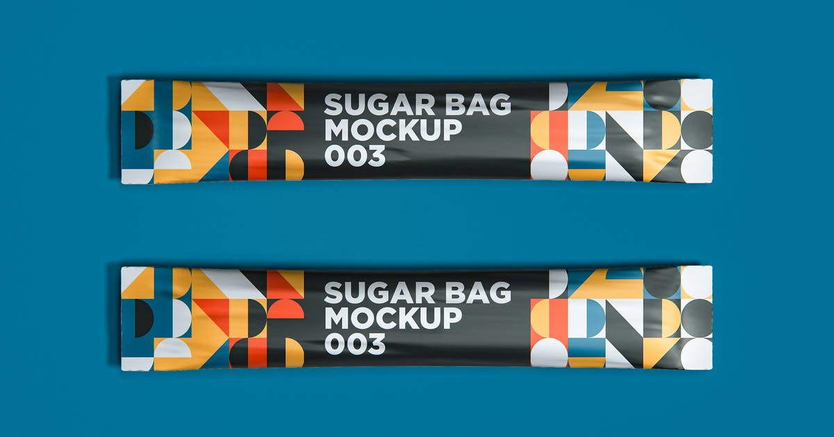 Download Sugar Bag Mockup 003 by traint