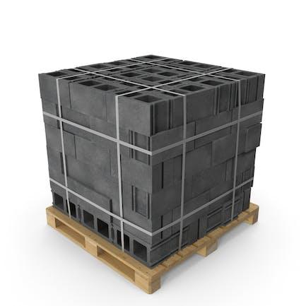 Palet con bloques
