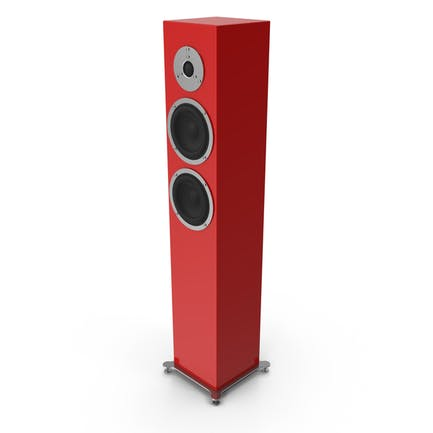 Red Floor Speaker