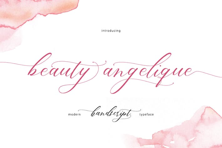 Thumbnail for Beauty Angelique Script