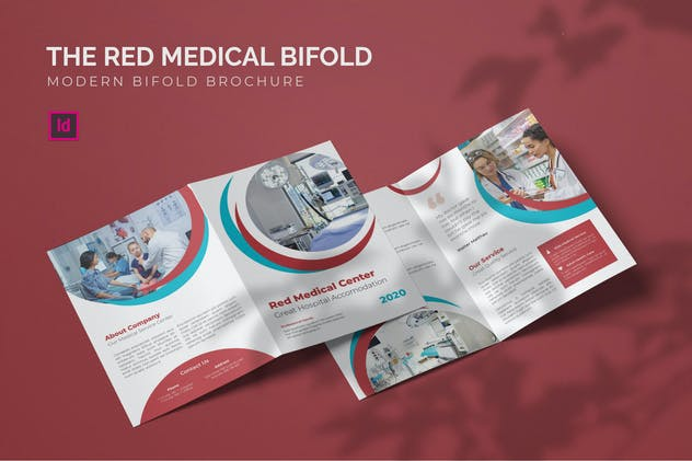 Red Medical - Bifold Brochure