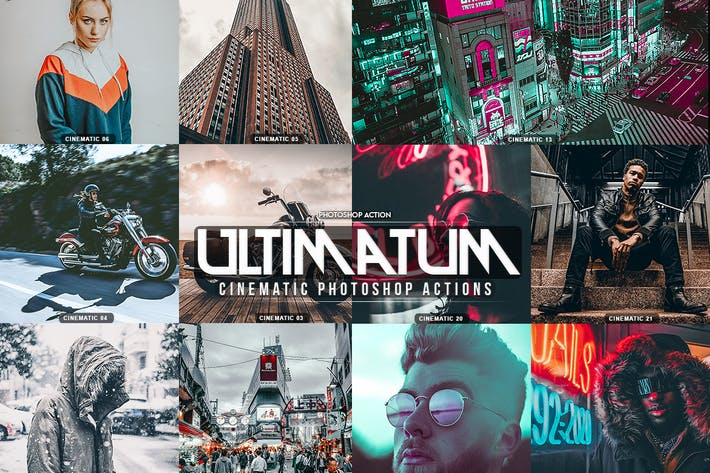 Thumbnail for Ultimatum Кинематографическая действия Photoshop