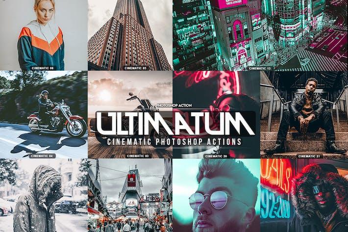 Ultimatum Cinematic Photoshop Actions