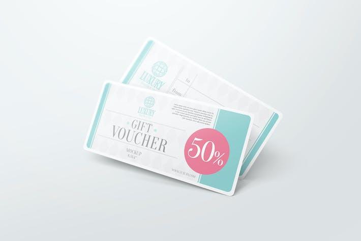 Thumbnail for Gift Voucher Mockups