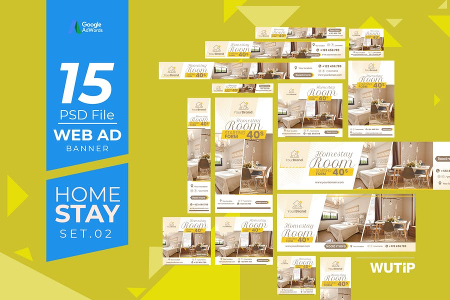 Web Ad Banners - Homestay 02
