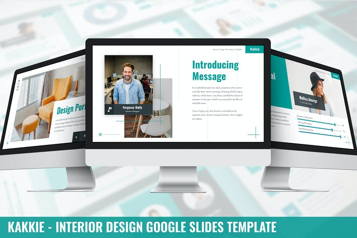 Thumbnail for Kakkie - Interior Design Google Slides Template