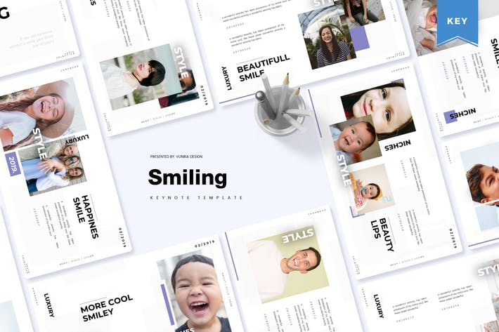 Thumbnail for Smiling | Keynote Template