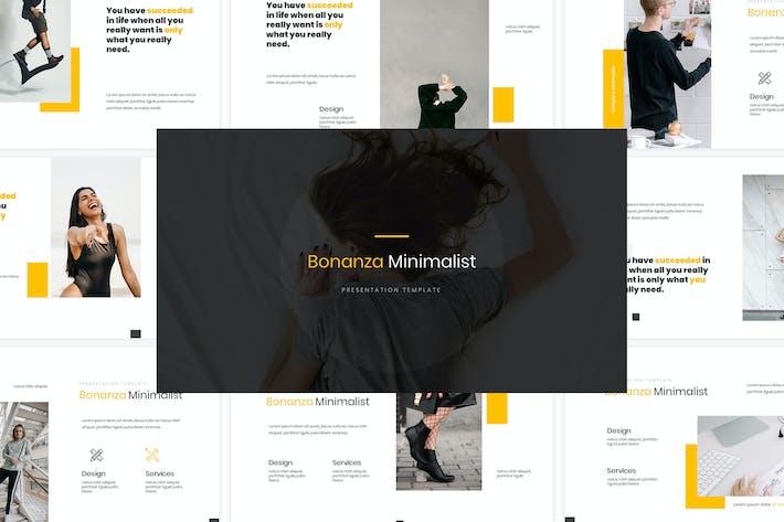 Thumbnail for Bonanza Google Slides Template