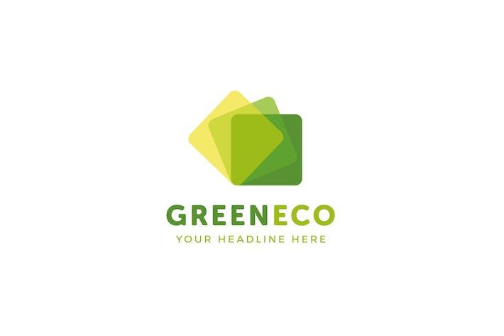 Thumbnail for GreenEco Logo Template