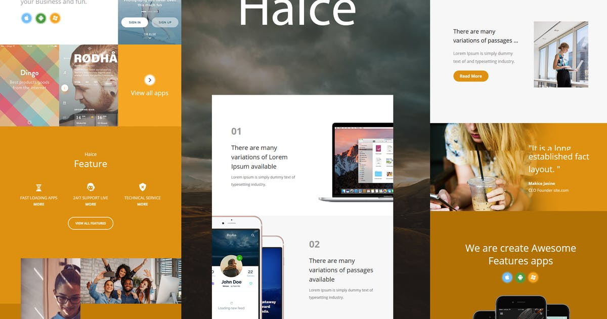 Download Haice Mail - Responsive E-mail Template by williamdavidoff