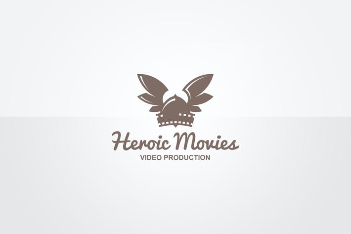Thumbnail for Heroic Movies Logo Template