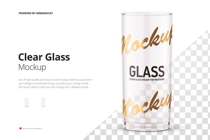 Thumbnail for Clear Glass Mockup