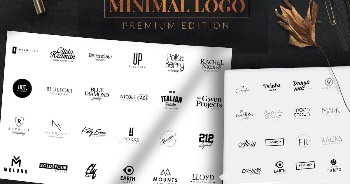 Download Minimal Logo and Badge by eviory