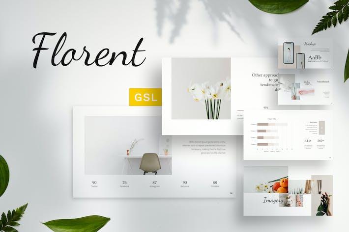 Thumbnail for Florent - Guideline Google Slides Template