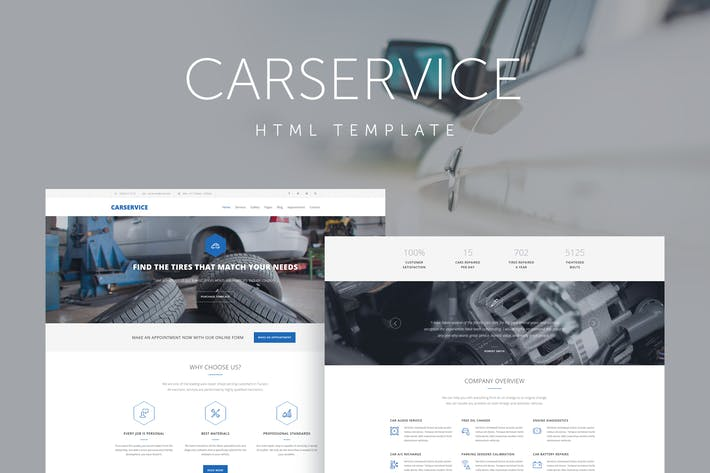 Thumbnail for Car Service - Mechanic Auto Shop Template
