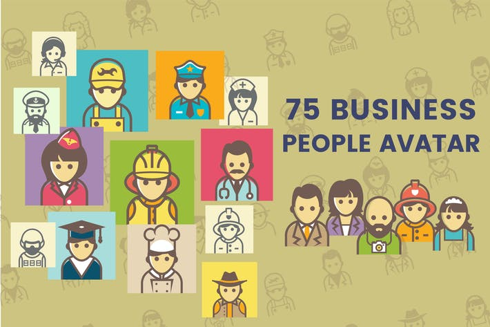 Thumbnail for Business People Avatar