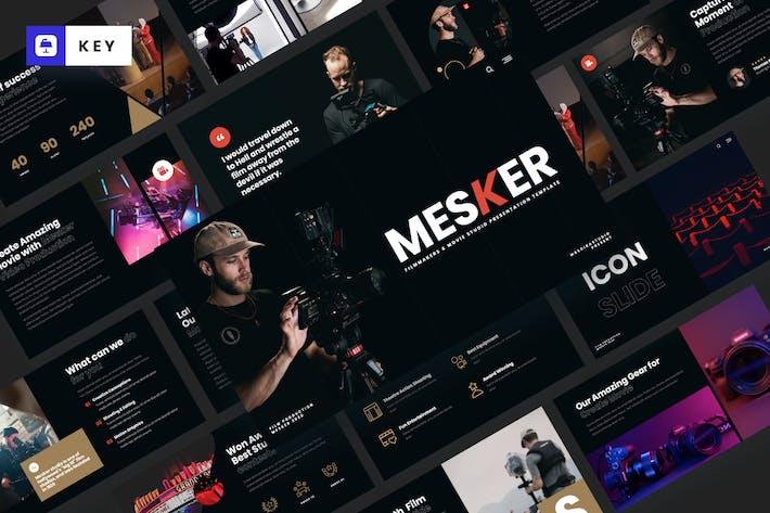 Thumbnail for MESKER - Шаблон Keynote кинематографистов
