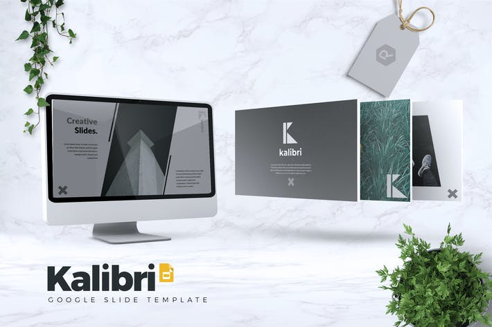 Cover Image For KALIBRI - Creative Google Slides Template