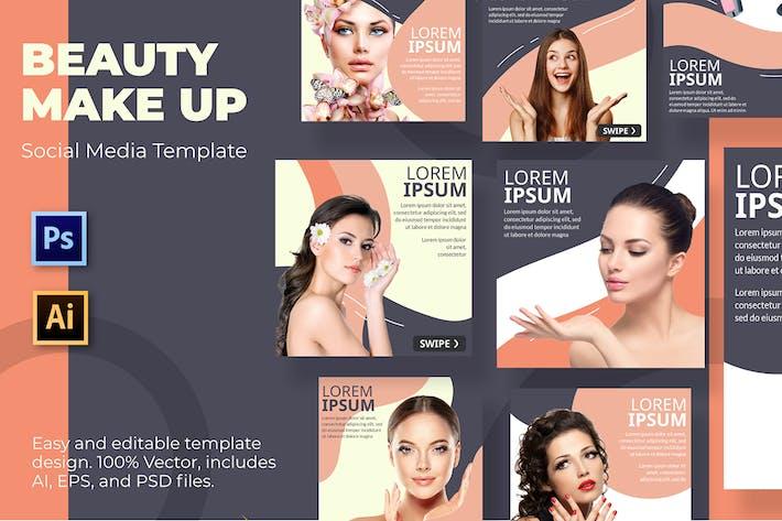 Cosmetics Social Media Template