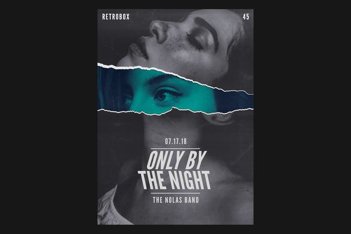 Thumbnail for Only By The Night Flyer Poster