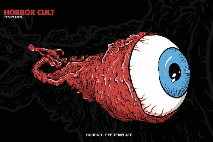 Thumbnail for Illustration des yeux d'horreur
