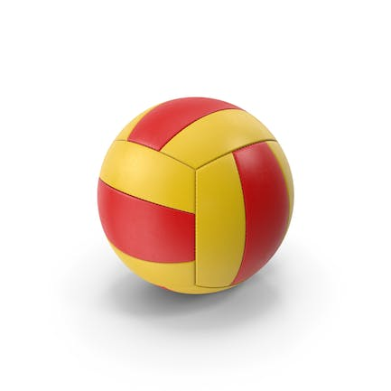 Volleyball Red Yellow
