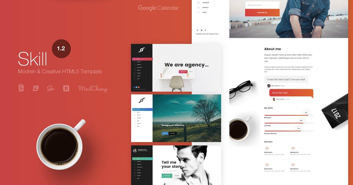 Skill - Modern & Creative HTML5 Template by suelo