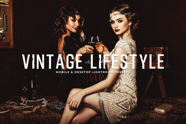 Thumbnail for Vintage Lifestyle Mobile & Desktop Lightroom Prese