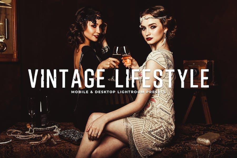 Vintage Lifestyle Mobile & Desktop Lightroom Prese