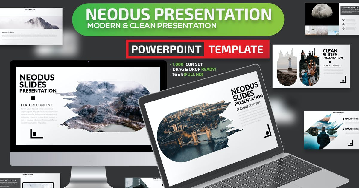 Download Neodus Powerpoint Presentation Template by mamanamsai