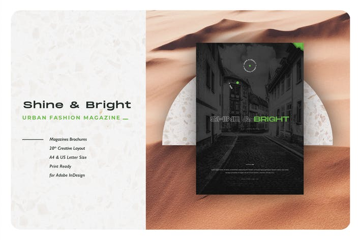 Thumbnail for Shine & Bright Urban Fashion Magazine