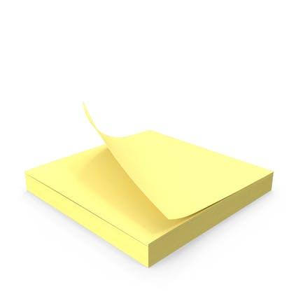 Bloc de notas adhesivo