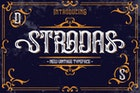 Stradas Display Font