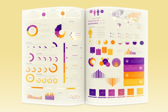 Thumbnail for Infographic Elements Template